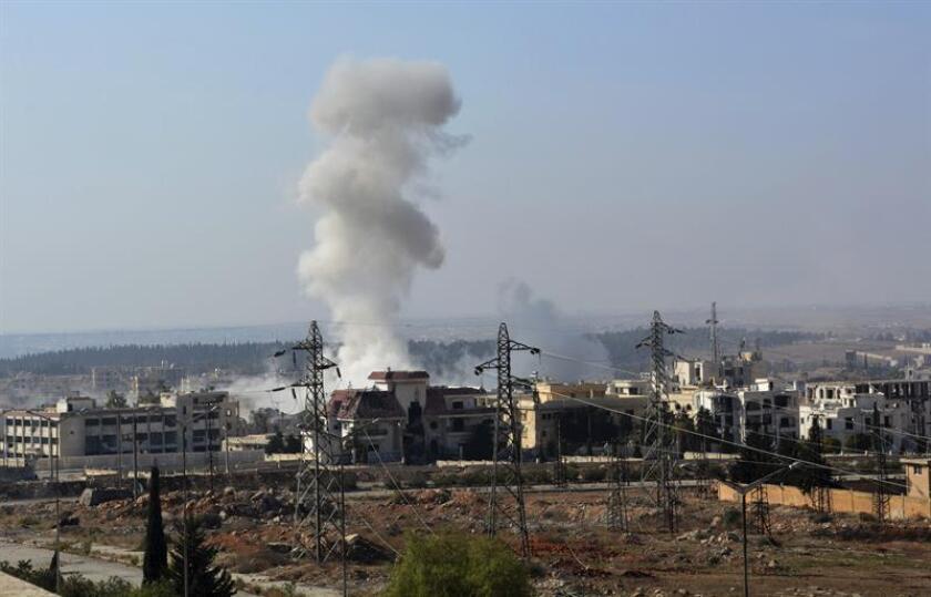 """El Pentágono reconoció hoy """"errores"""" de inteligencia y de marcación de objetivo en un ataque aéreo el pasado 17 de septiembre en el que se golpeó inadvertidamente a tropas del régimen sirio del Bachar al Asad. EFE/ARCHIVO"""