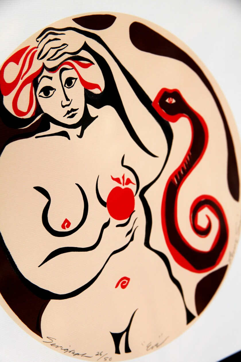 """""""Eve"""" by Lenore Simon"""