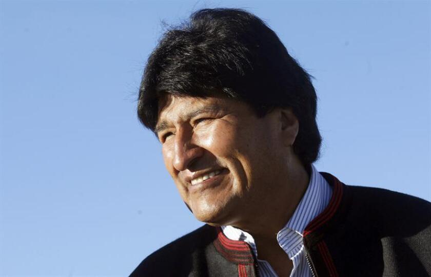 En la imagen, el presidente de Bolivia, Evo Morales. EFE/Archivo