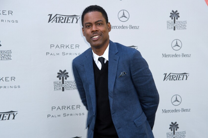 "Comedian Chris Rock singles out Jennifer Lawrence among white actresses in a New Yorker piece about ""Saturday Night Live"" star Leslie Jones."