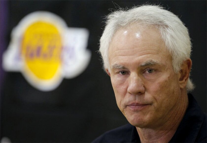 Lakers General Manager Mitch Kupchak expressed confidence in re-signing Dwight Howard.
