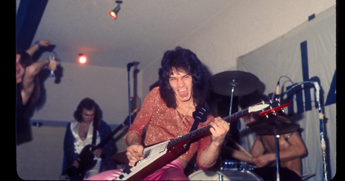 An unlikely Pasadena love story: The high-school bromance of Eddie Van Halen and David Lee Roth