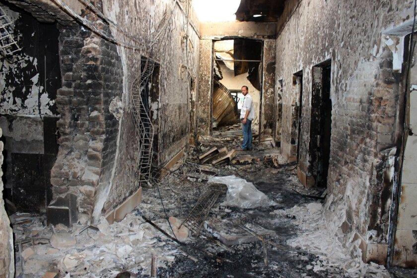 Hospital bombing in Kunduz, Afghanistan
