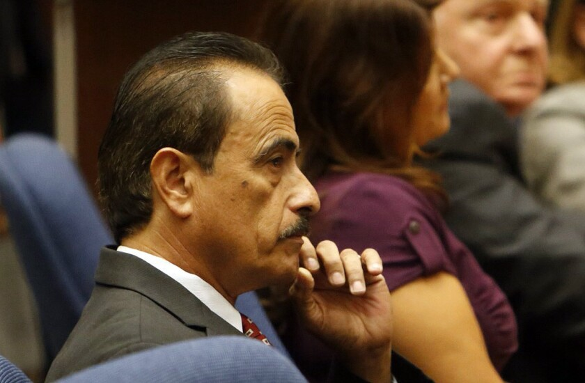 Former Los Angeles City Councilman Richard Alarcon was sentenced to 120 days in jail and banned for life from holding public office.