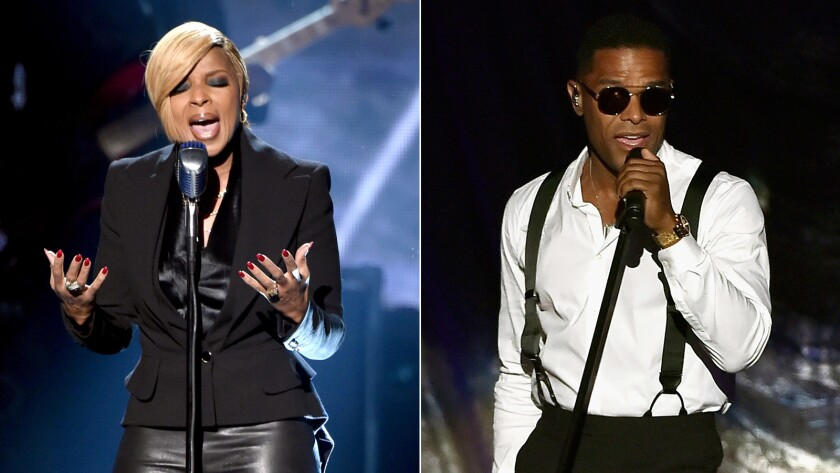 Mary J. Blige and Maxwell