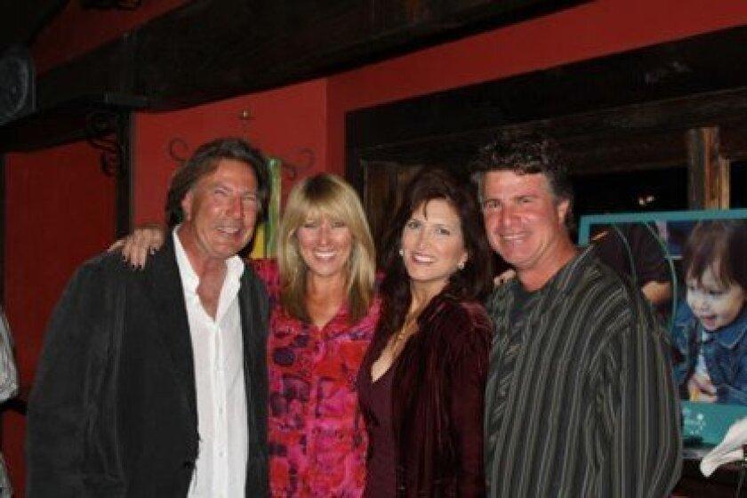 Dave Martz, Heidi DeBerry, Annette and Dean Fargo