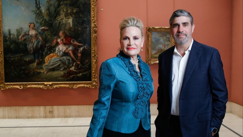 Megan Pogue (left), executive director, and Derrick Cartwright, director of curatorial affairs, have worked together to make the Timken Museum of Art more visitor-friendly.