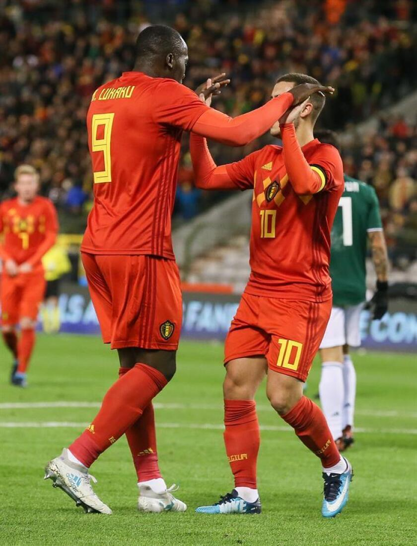 Lukaku suma 30 goles con Bélgica e iguala a Van Himst y Voorhoof