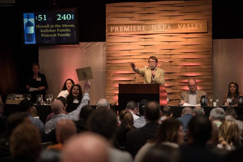 Premiere Napa Valley auction