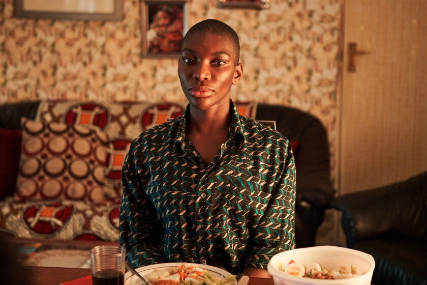"""Michaela Coel (""""I May Destroy You"""") is just ahead in the Emmy race for lead actress in a limited or anthology series."""