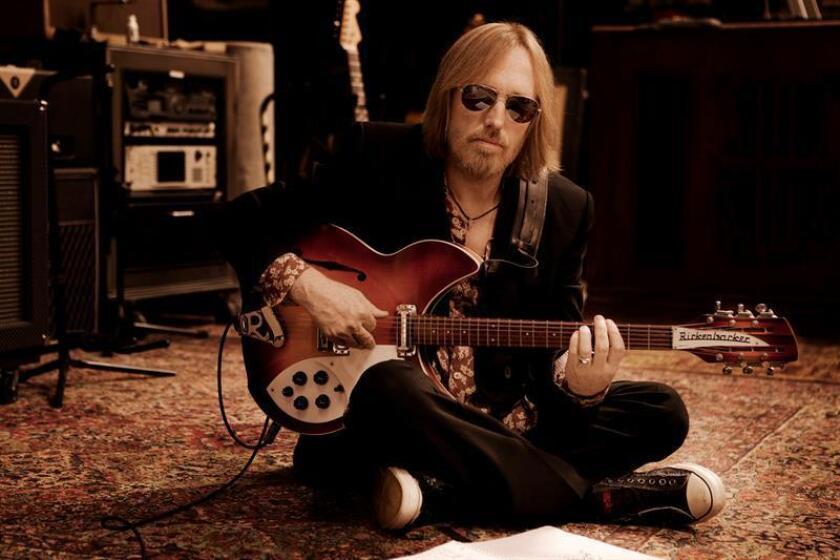 Fotografía de archivo que muestra al músico Tom Petty. EFE/SÓLO USO EDITORIAL