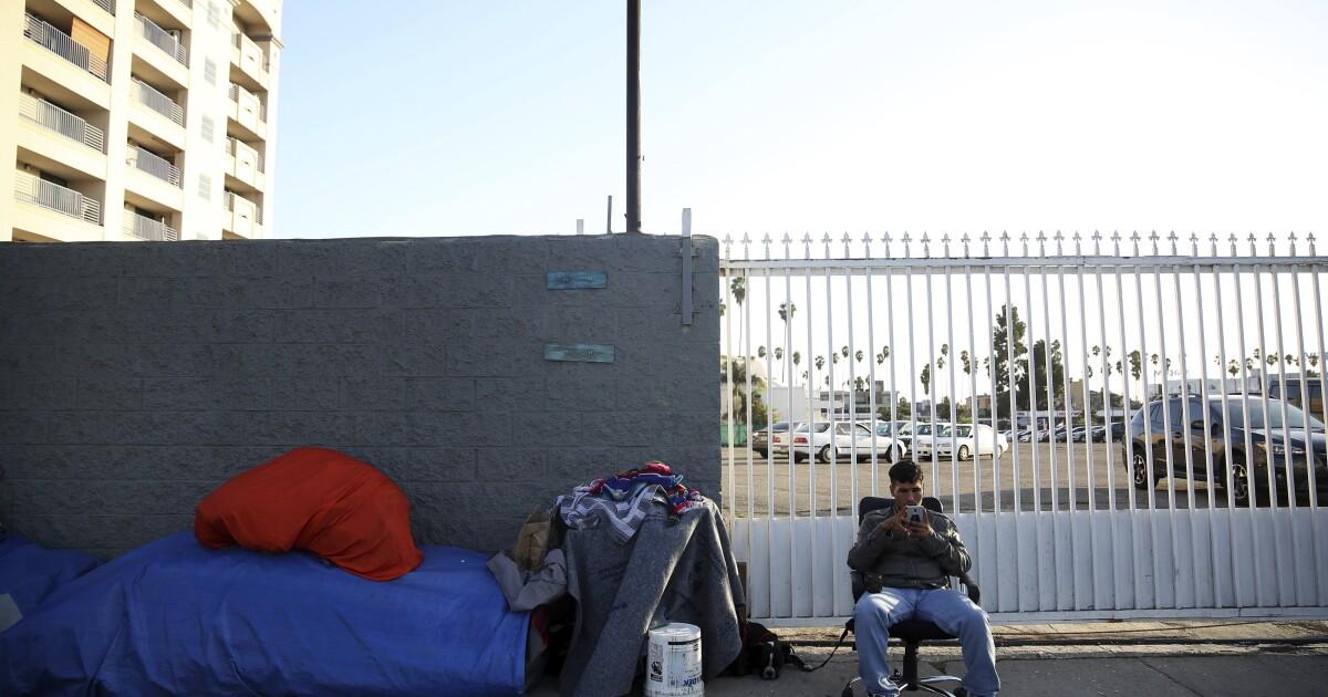 Spalte: In Hollywood, fand ich die widerspenstigen Zusammenbruch der Obdachlosigkeit inmitten der glitzernden boomtown