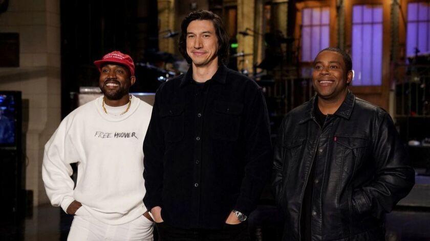 Kanye SNL 4