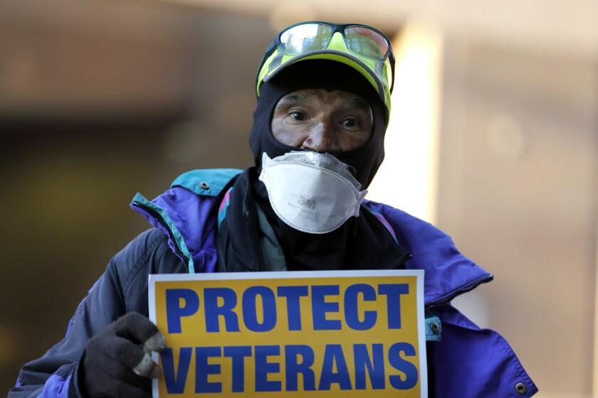 Virus Outbreak Veterans Affairs