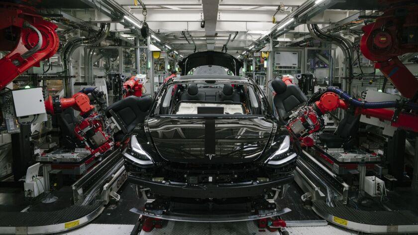 Tour of Tesla Factor in Fremont, California