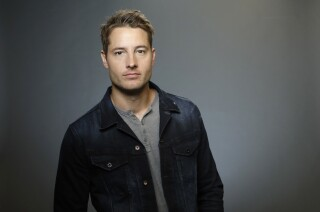 """Justin Hartley, who stars in """"This is Us,"""" is photographed for the Los Angeles Times Emmy Contender Web Chats."""