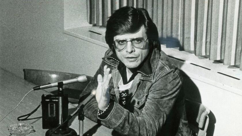 Writer Harlan Ellison in 1978.