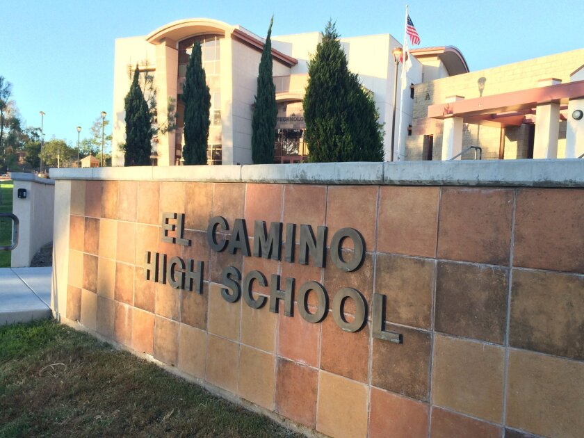 Oceanside's El Camino High School will reap the benefits of a $160 million bond measure approved Tuesday.