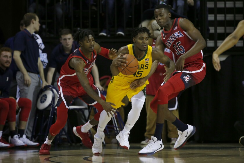 Arizona Baylor Basketball