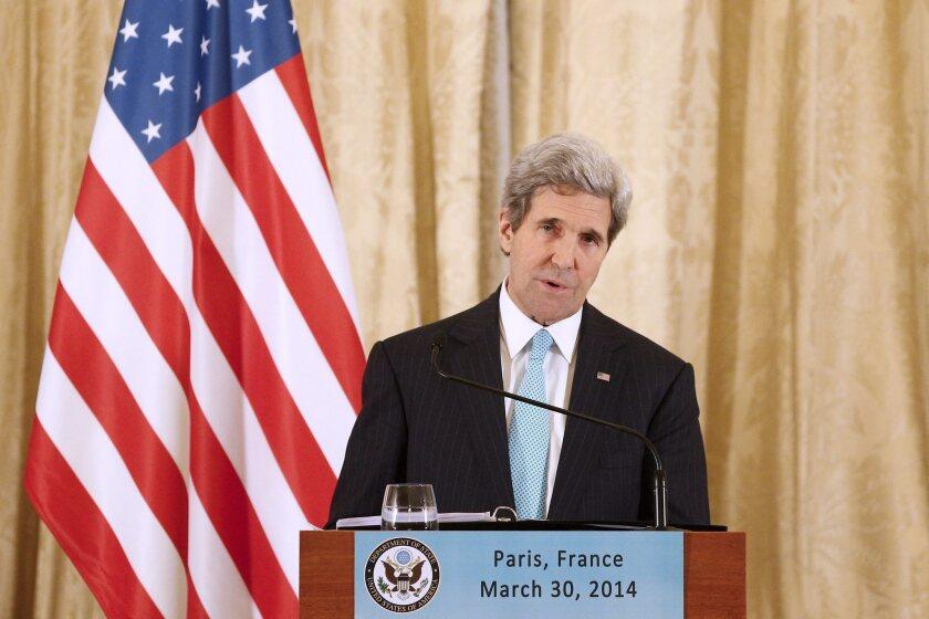 John F. Kerry in Paris