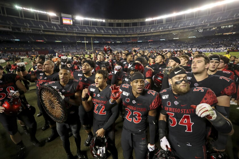 San Diego State is headed to a bowl game for the school-record 10th straight season.