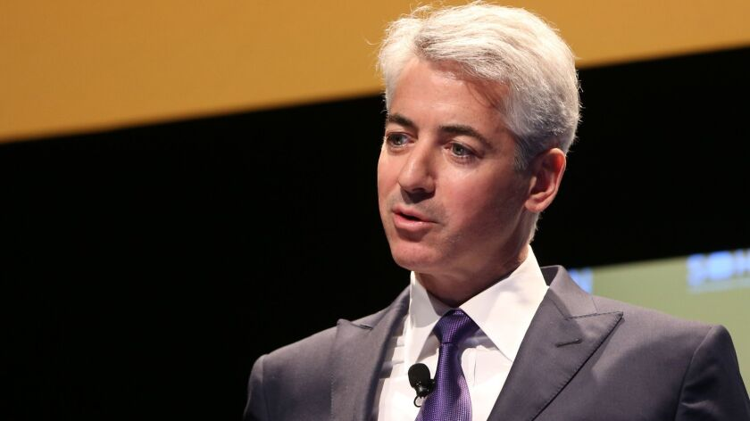 Bill Ackman, chief executive of Pershing Square Capital Management, at the Sohn Investment Conference in New York in 2015