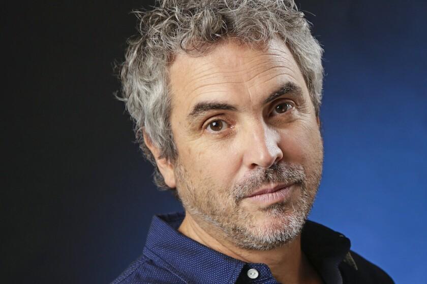 """Gravity"" director Alfonso Cuarón."