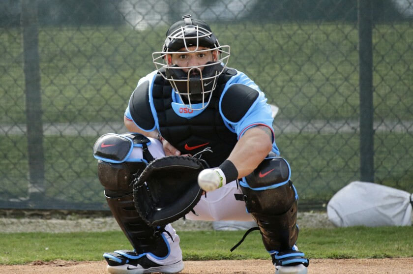 Marlins Catchers Baseball