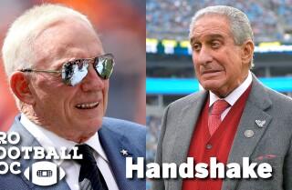 Pro Football Doc: Handshake