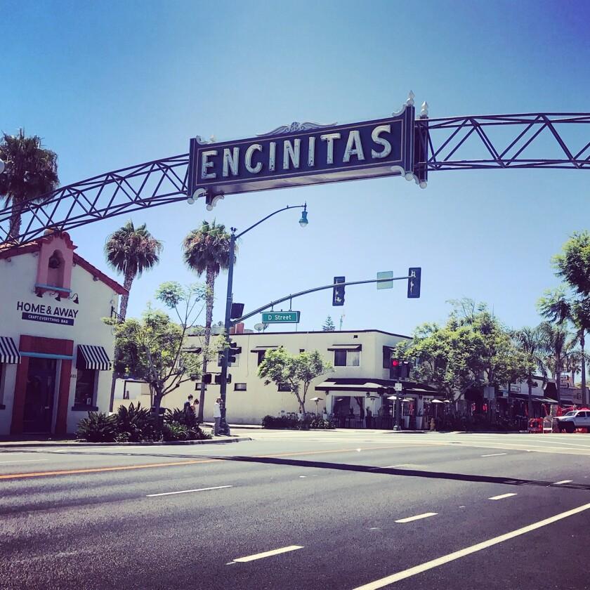 The Encinitas banner