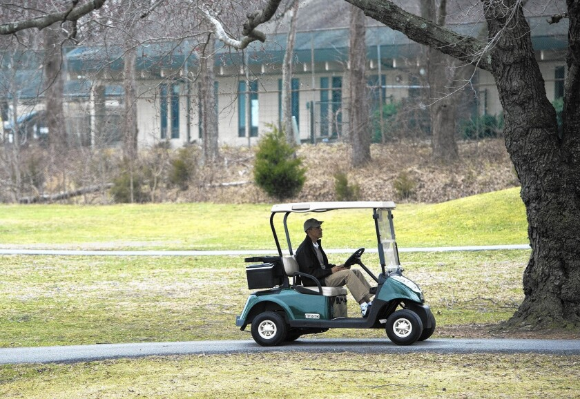 President Obama, at the Andrews Air Force Base golf course in Maryland, will visit Europe this week.