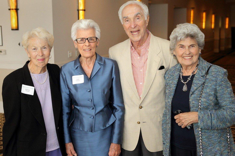 Barbara Osinski, Sally Schulze, Jere and Joyce Oren