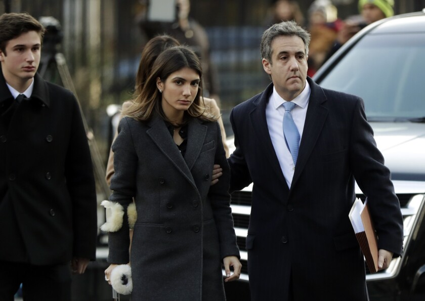 Michael Cohen and family