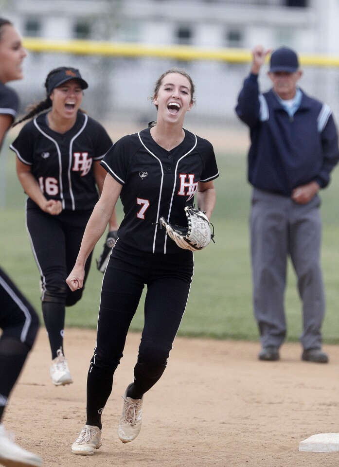 Photo Gallery: Photo Gallery: Huntington Beach vs. Chino Hills in softball