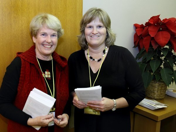 Lynne Thompson and Linda Brems