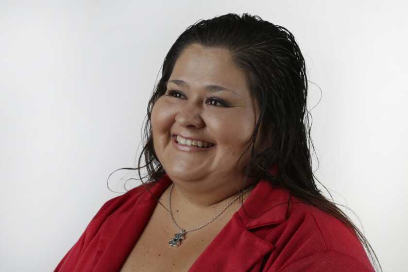 Elizabeth Escobar, winner of Latino Champions volunteer category