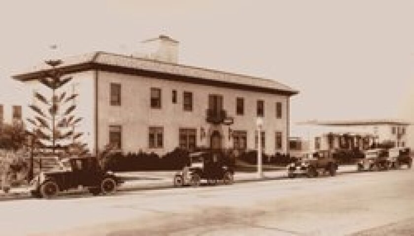 The hospital in the 1920s