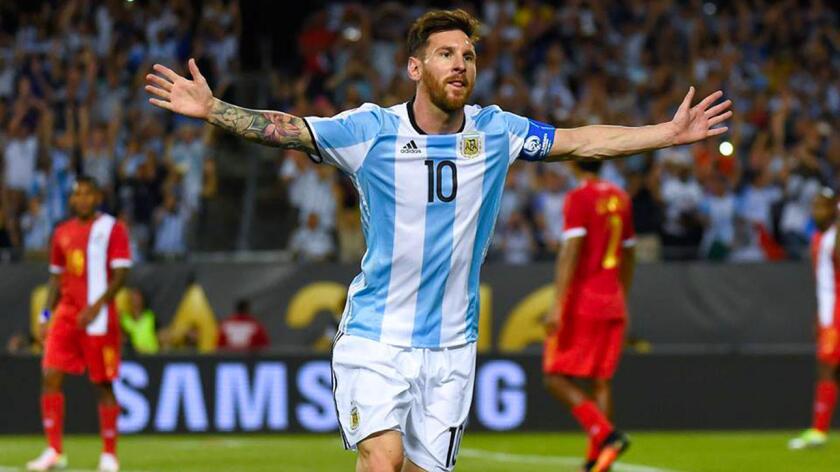 Leonel Messi, estrella de Argentina, es uno de los protagonistas de la Copa América Centenario.