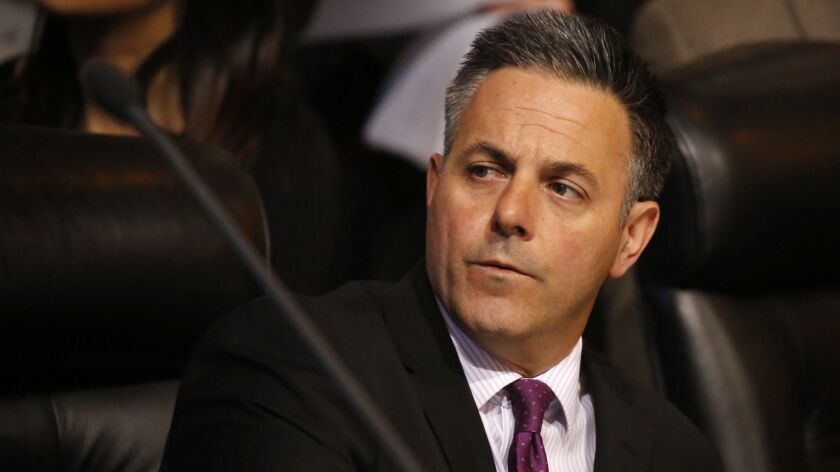 L.A. Councilman Joe Buscaino, shown in April, demanded answers from Sheriff's Department officials about their handling of mentally ill people.