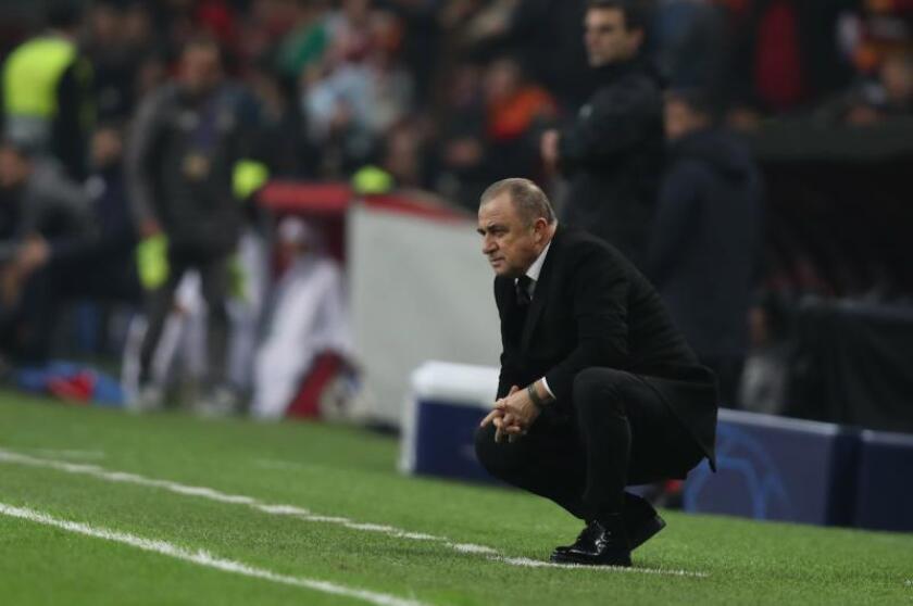 El entrenador Fatih Terim. EFE/Archivo