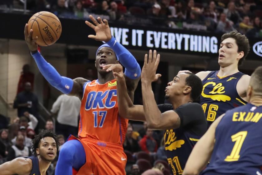 Thunder Cavaliers Basketball