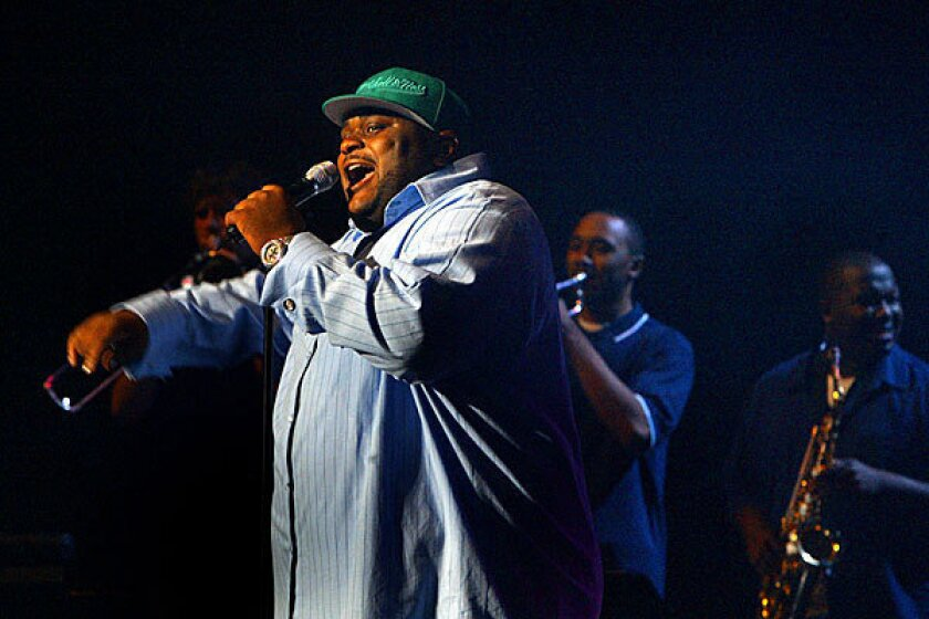 """""""American Idol"""" winner Ruben Studdard will tackle his weight problem on """"The Biggest Loser."""""""