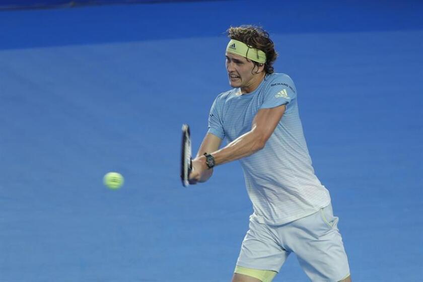 En la imagen, el tenista alemán Alexander Zverev. EFE/Archivo