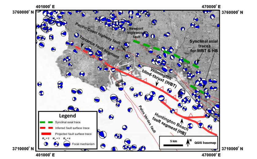 Wilmington Blind-Thrust fault