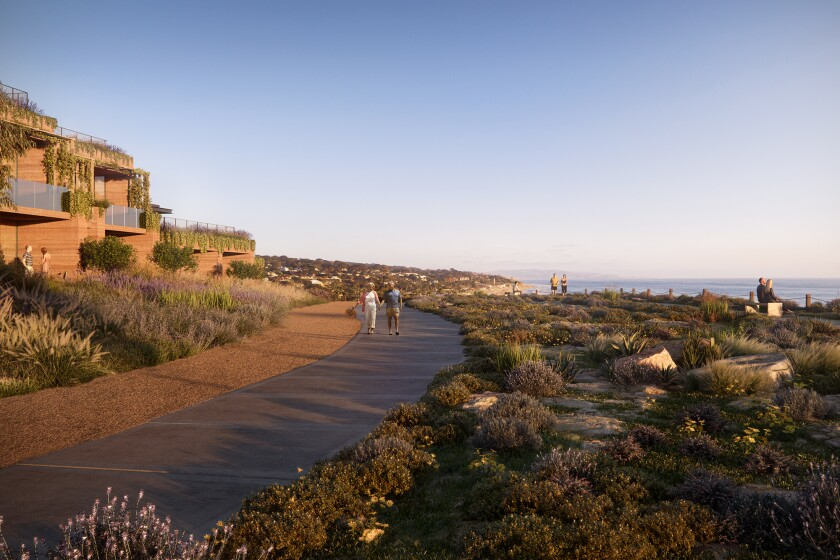 Developers of the proposed Marisol initiative have pointed to the city's environmental impact report, which details mitigation measures to protect the bluff.