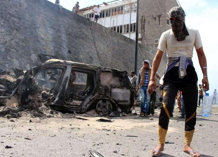 Yemen car bomb attack