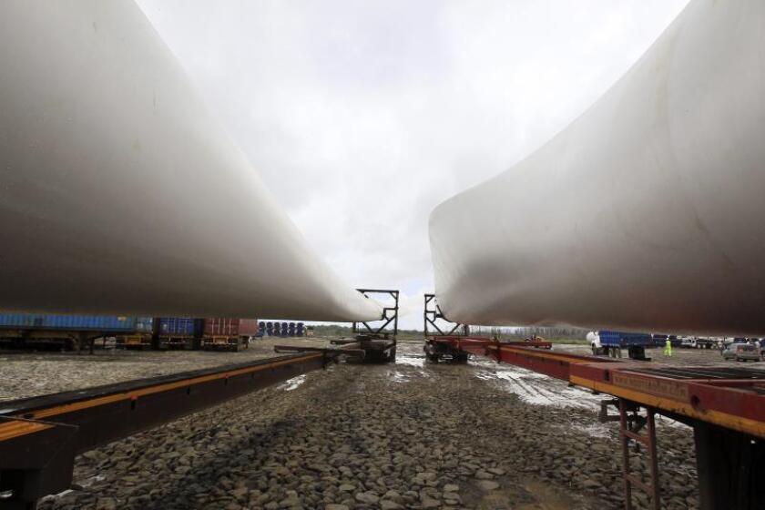 Una activista mexicana denuncia la contaminación de la energía eólica en su tierra