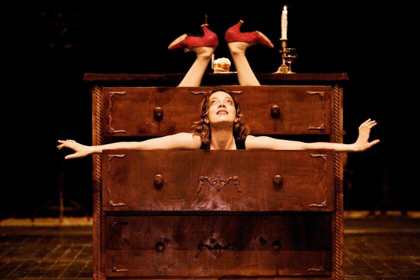 "Aurélia Thierrée stars in ""Aurélia's Oratorio,"" conceived and directed by Victoria Thierrée Chaplin."