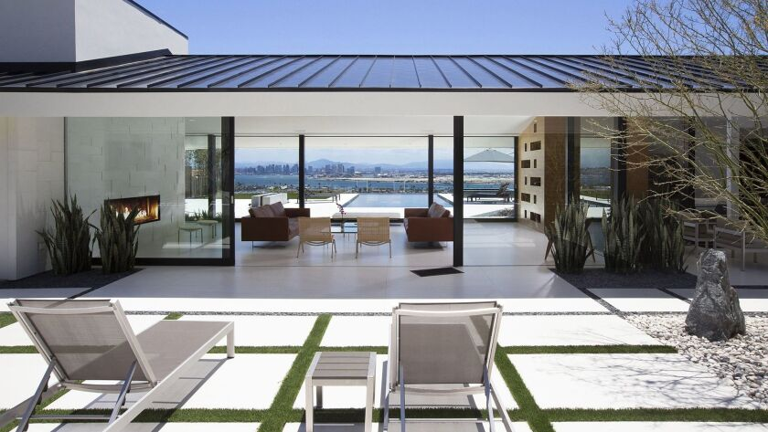 Armada Terrace residence in Point Loma is one of the home featured on the Oh! Tour. Mindy Nicole Pho