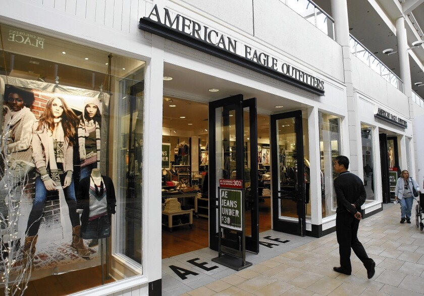 """Robert Hanson """"had been implementing meaningful and positive changes"""" at American Eagle Outfitters, one analyst said."""